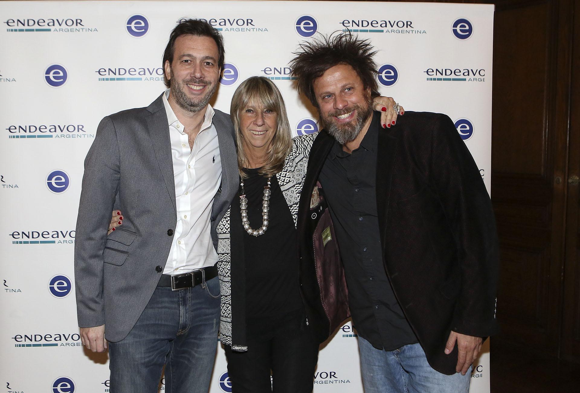 Esteban Wolf (Chocorísimo), Silvia Torres Carbonell y Luciano Nicora