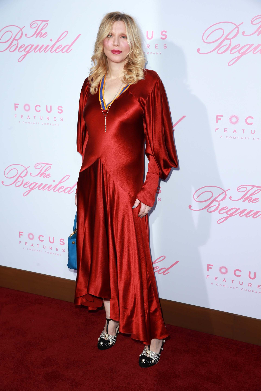 Courtney Love también se decantó por el colorado
