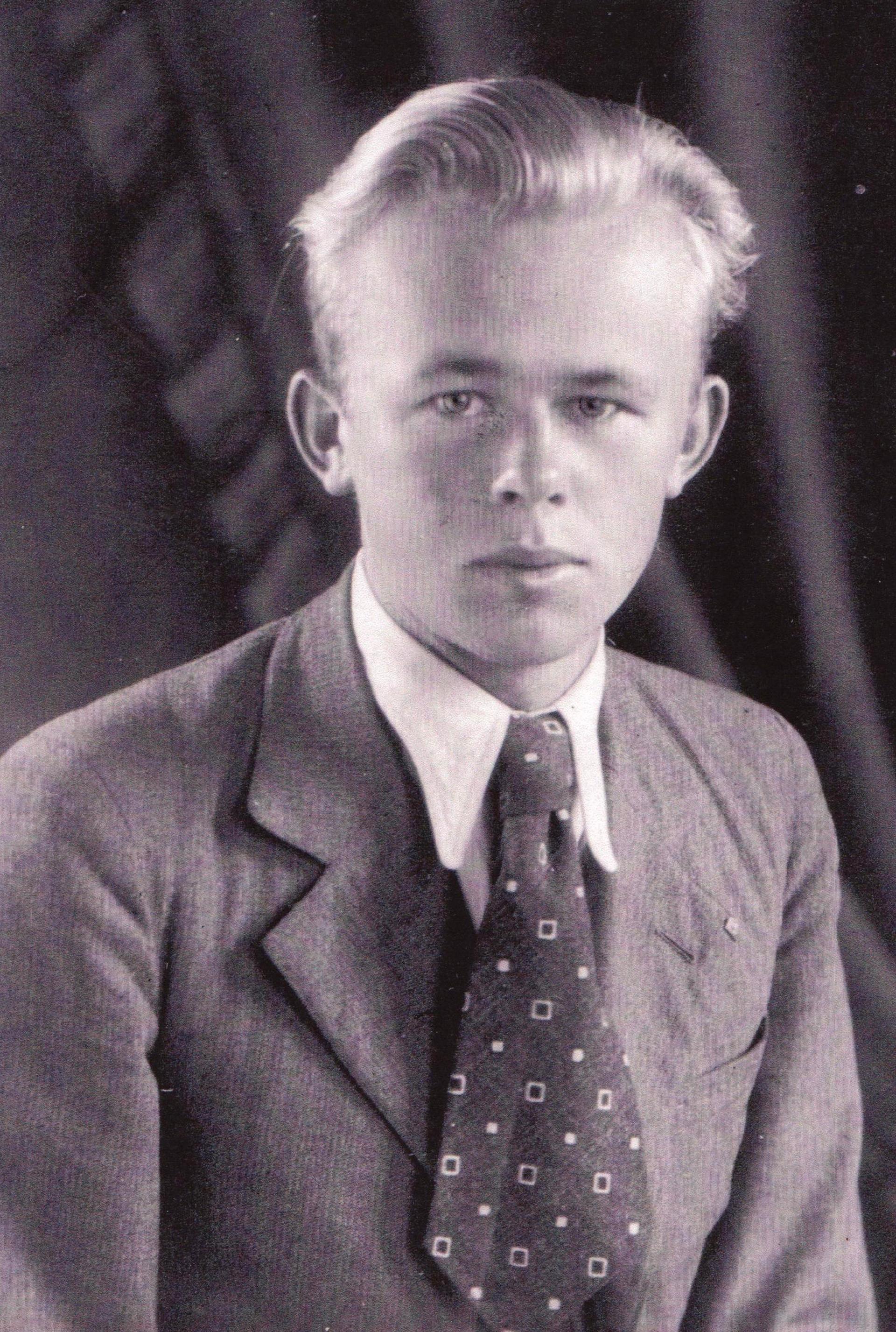 Jaroslav Pavlicek cuando era estudiante