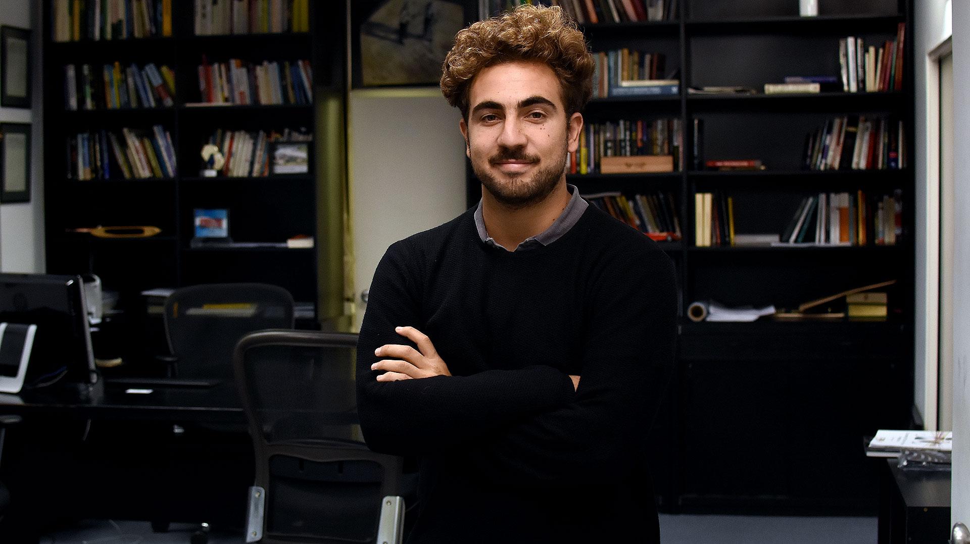 Tomás Karagozian lidera el área de Recursos Humanos de TN Platex. (Nicolás Stulberg)