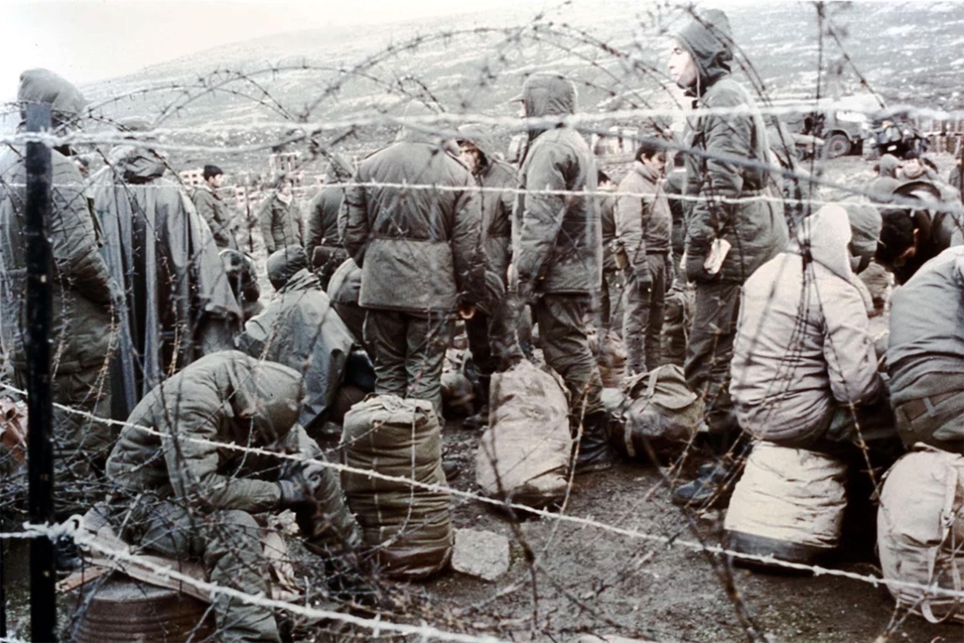 Prisioneros de guerra argentinos realizaron durante su detención trabajos peligrosos prohibidos por la Convención de Ginebra, como transportar municiones