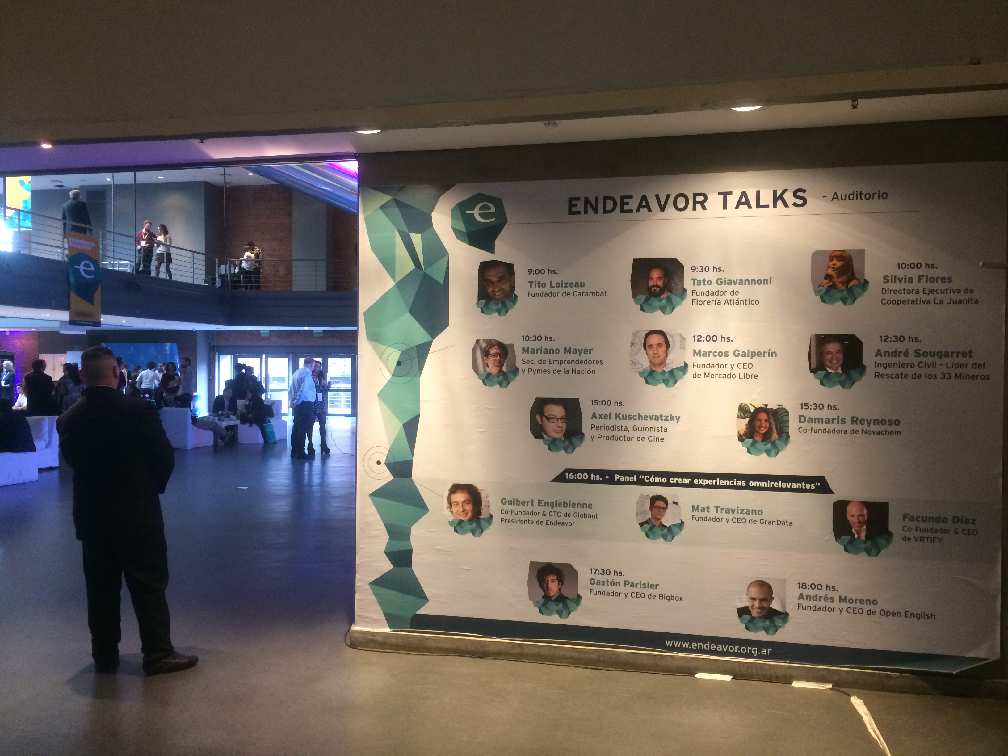 Las Endeavor Talks fueron un éxito en su edición 2017