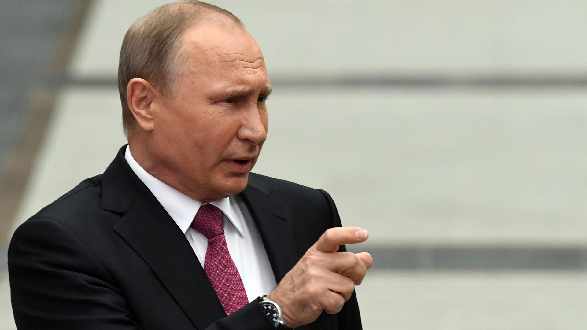 Vladimir Putin, presidente de Rusia. (AFP)