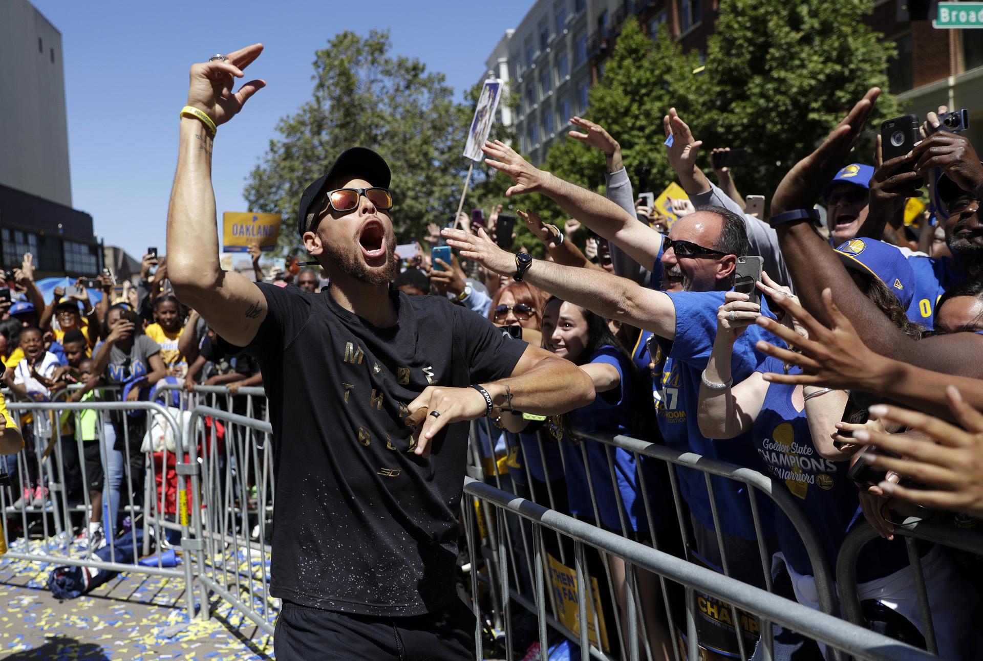 Curry es considerado uno de los máximos ídolos de la franquicia