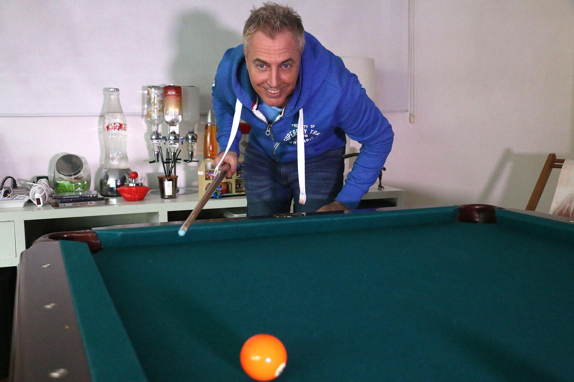 El pool le recuerda los fines de semana junto a su padre (Verónica Guerman)