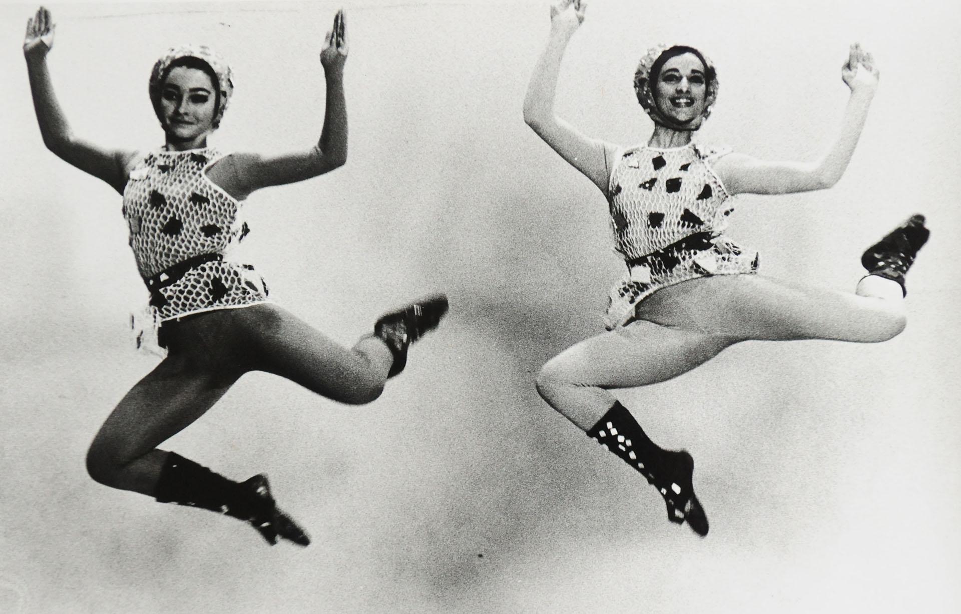 """Marilú Marini y Ana Kamien en """"Danse Bouquet"""" (1965, Archivo ITDT)"""