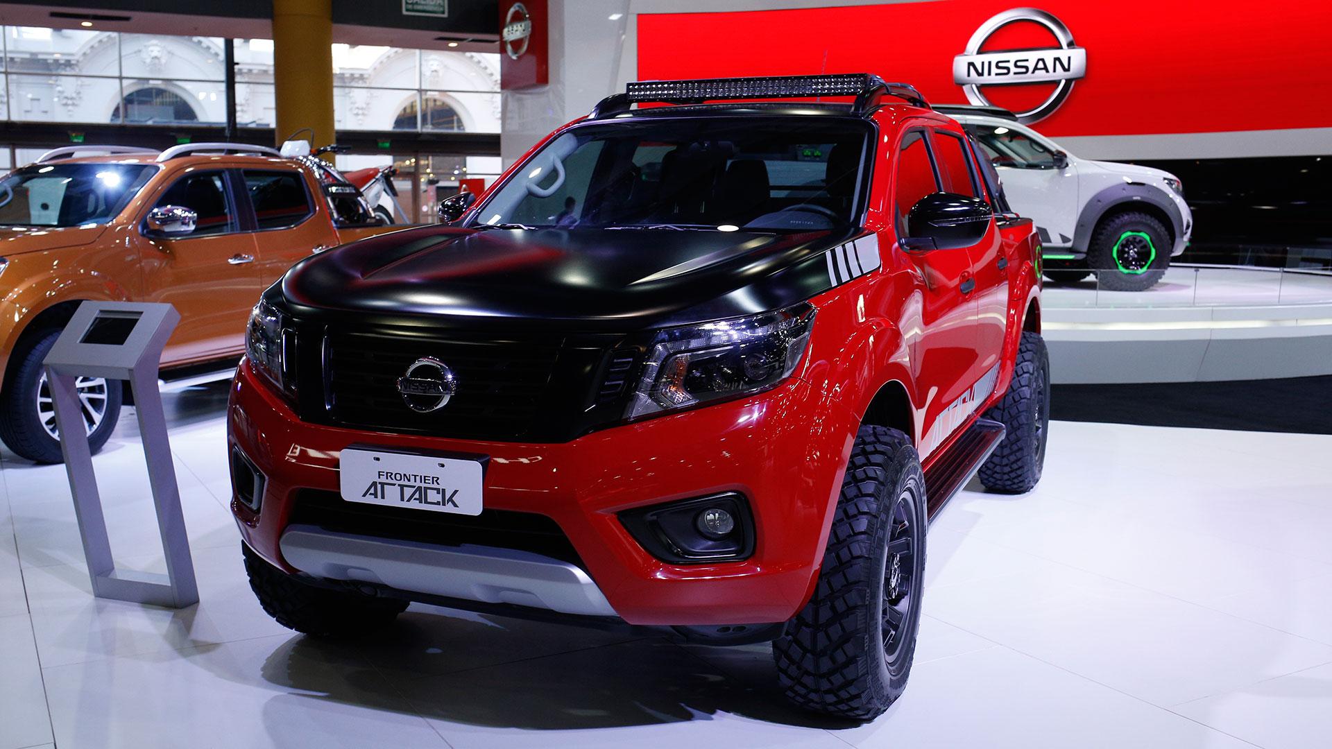 """La imponente Frontier Attack, un concept inspirado en los """"Monster Trucks"""", con actitud totalmente provocadora"""
