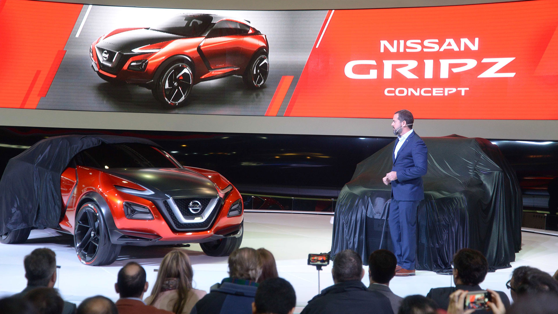 El Director General develó al Nissan Gripz Concept