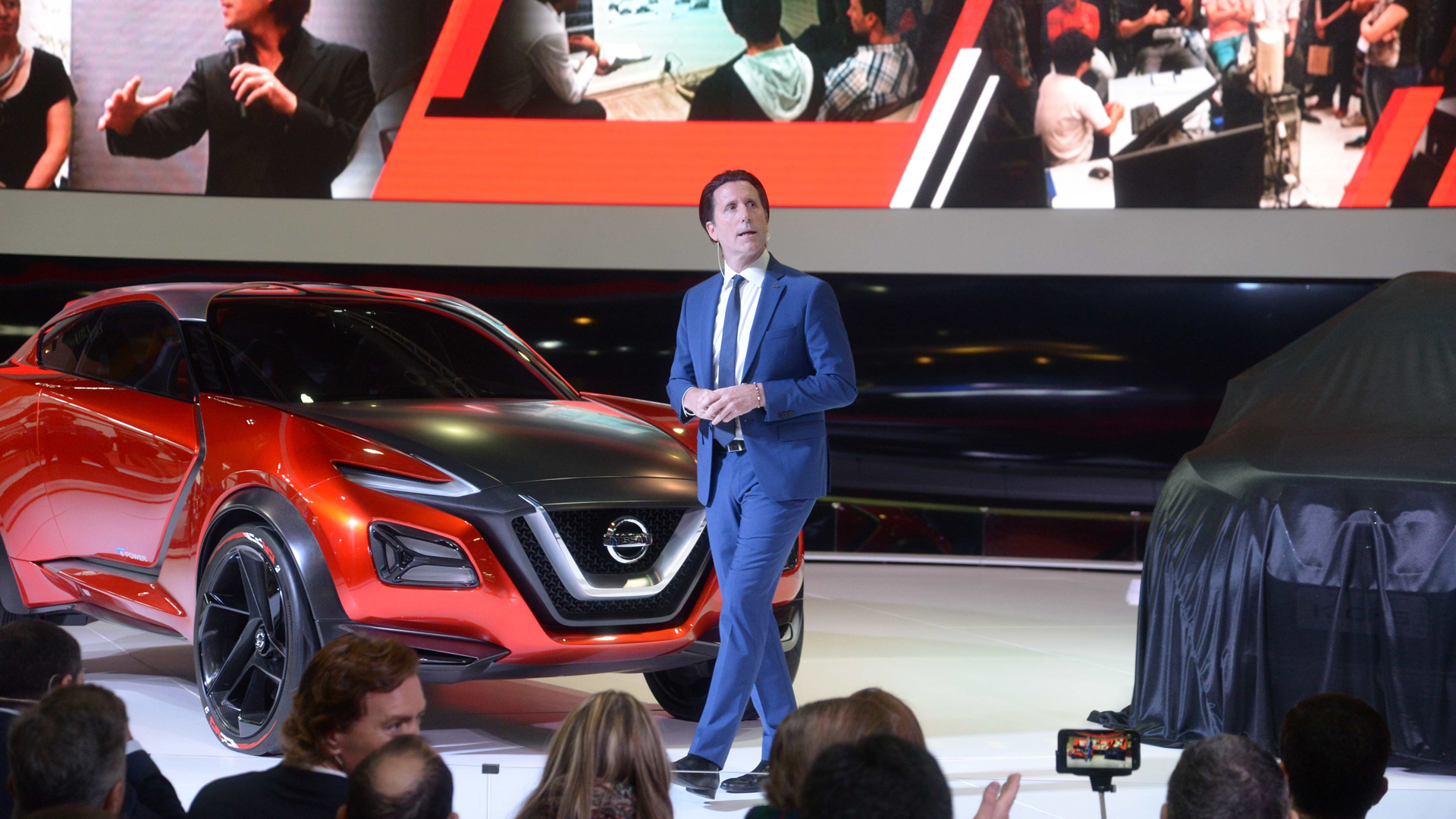 """""""'Vivir completamente' no es cliché, es ser latino"""", definió Alfonso Albaisa para explicar el criterio de diseño del Nissan Kicks (Enrique Abatte)"""