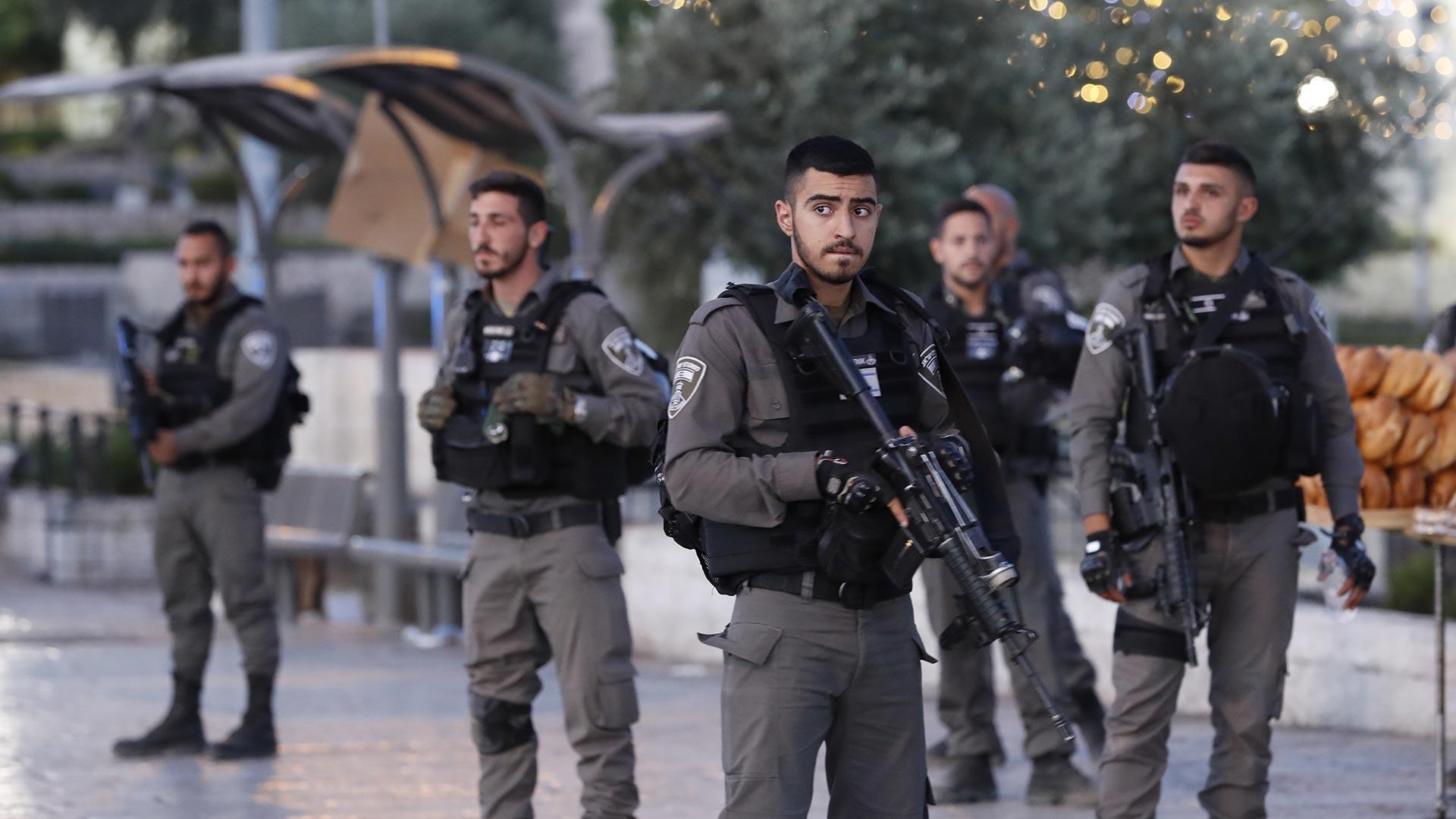 Fuerzas israelís. (AFP)