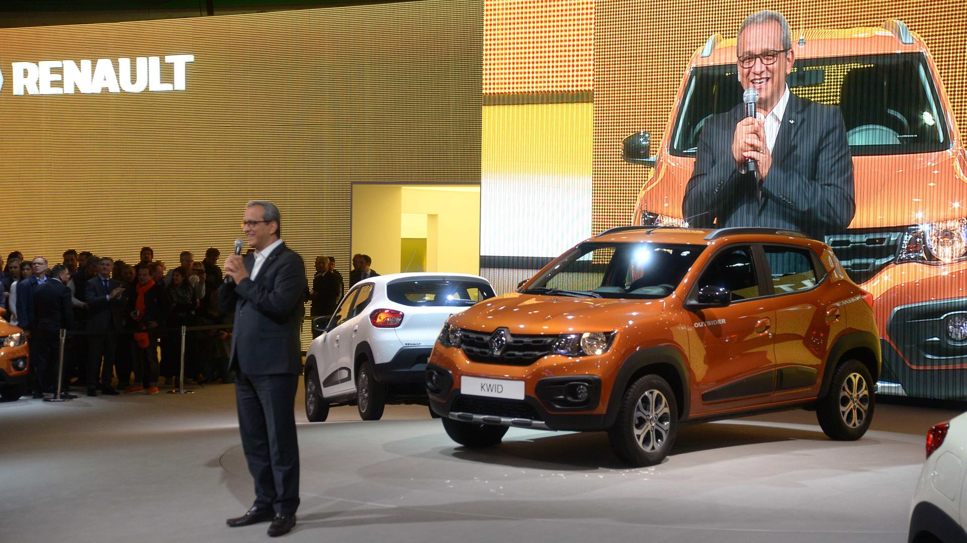 El Renault Kwid será presentado en el mercado argentino en el último trimestre de 2017