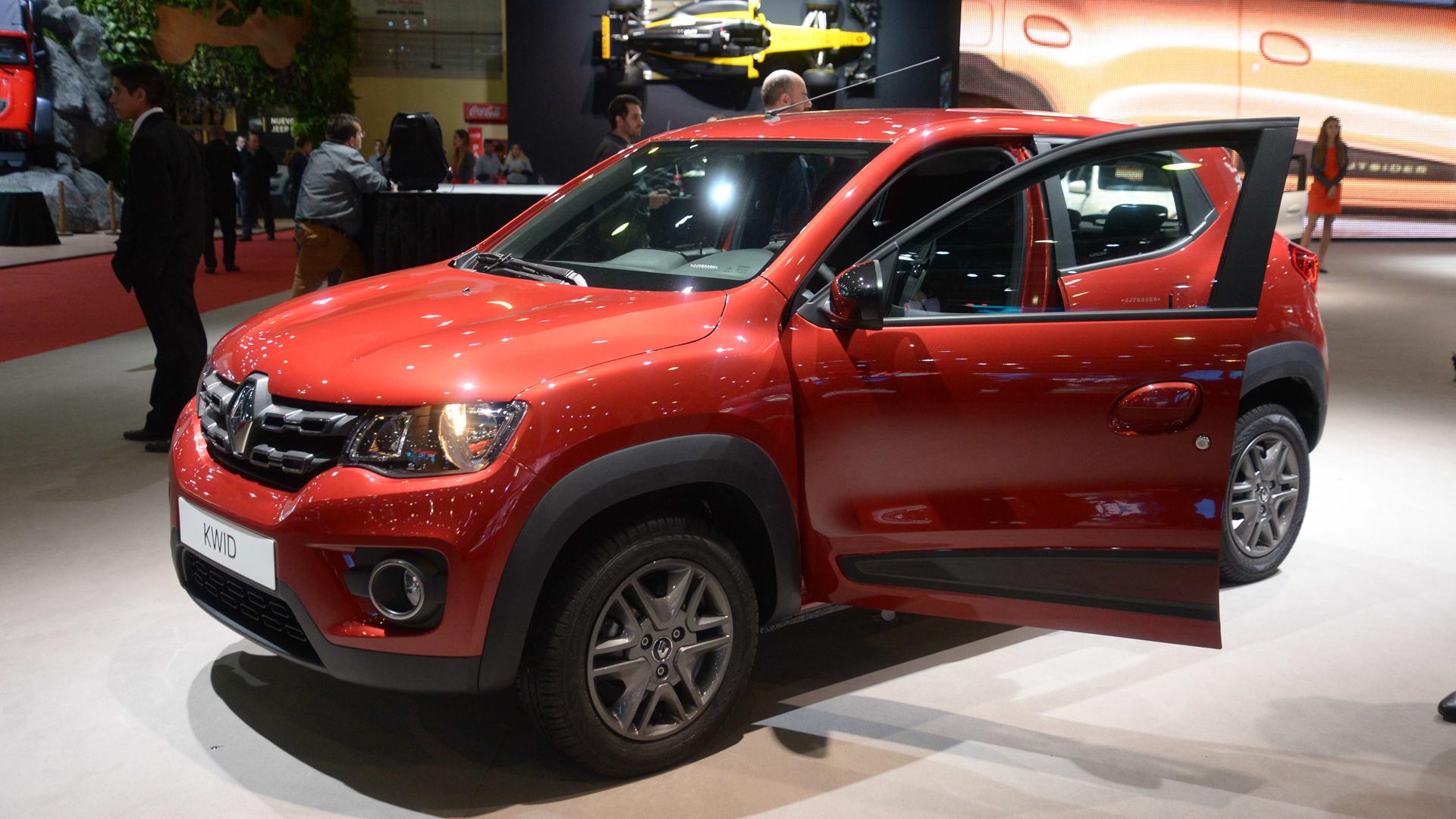 El bajo consumo del Kwid convierte al nuevo compacto urbano de Renault en el más económico de su segmento (Enrique Abatte)