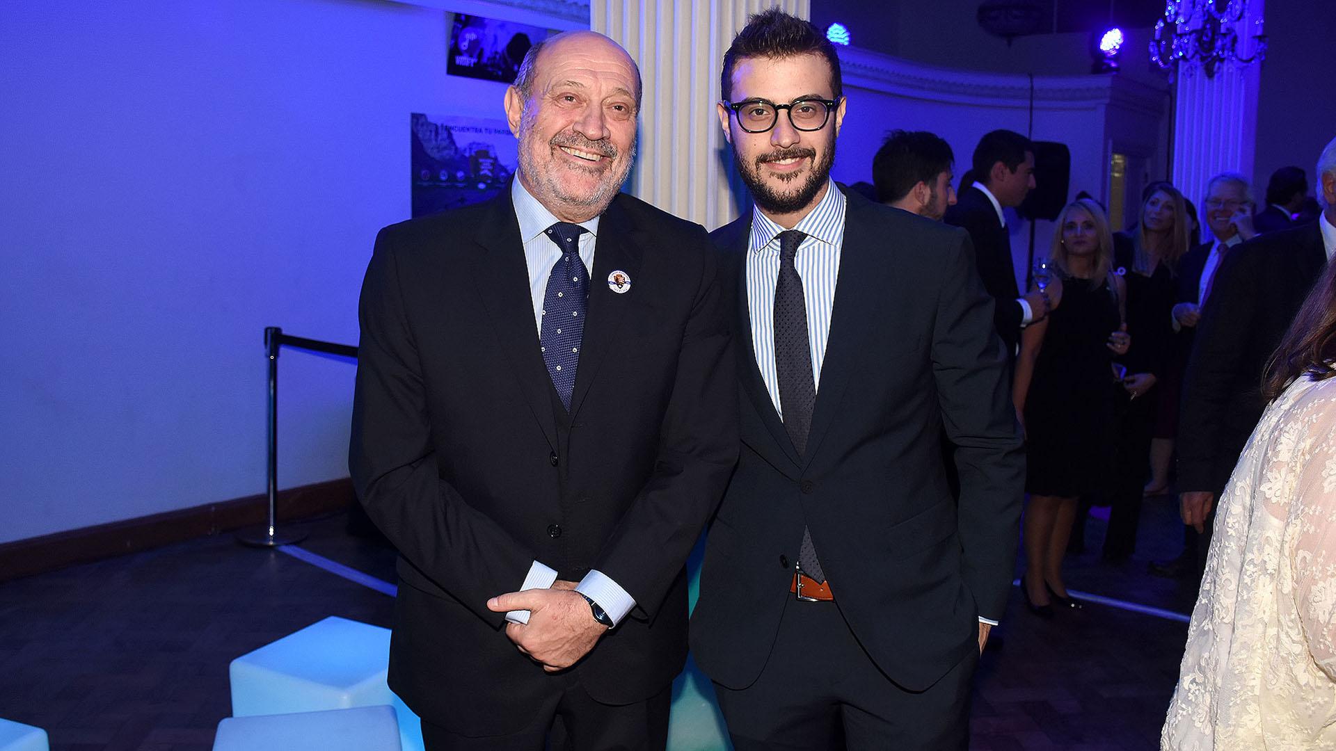 Los periodistas Alfredo y Diego Leuco