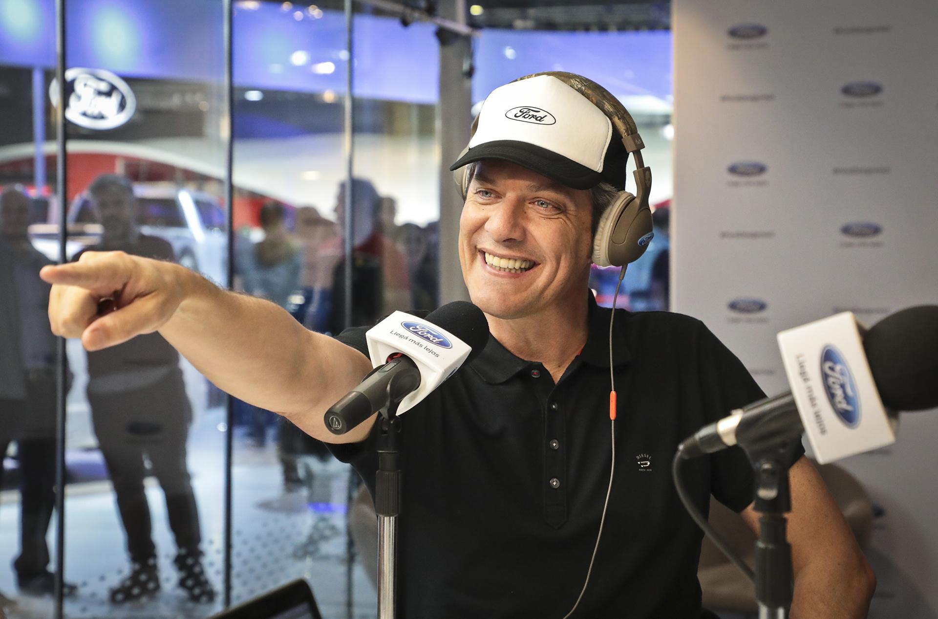 Mario Pergolini en Ford Live Studio