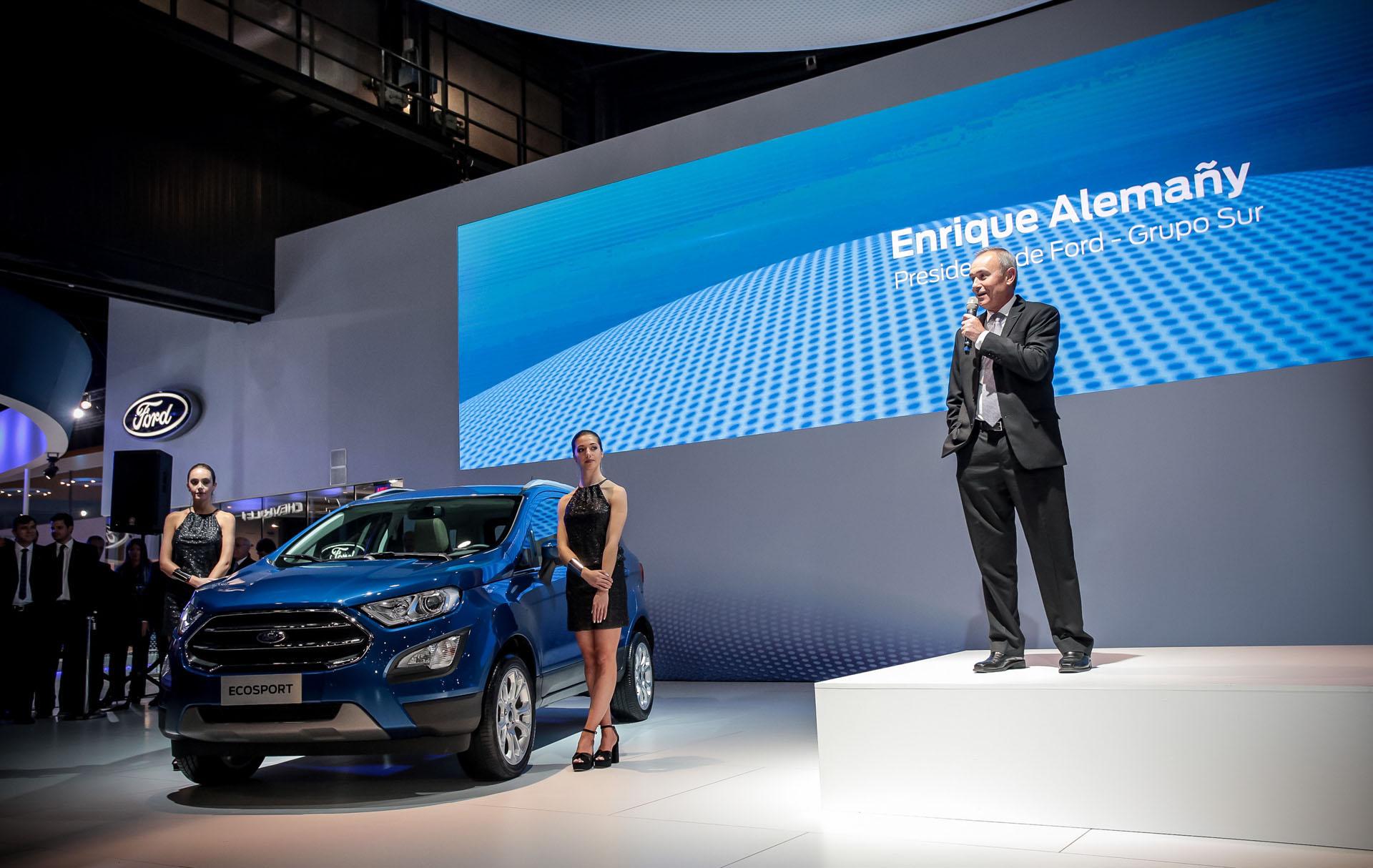 Presentación de la Nueva Ecoport con Enrique Alemañy, Presidente de Ford Grupo Sur