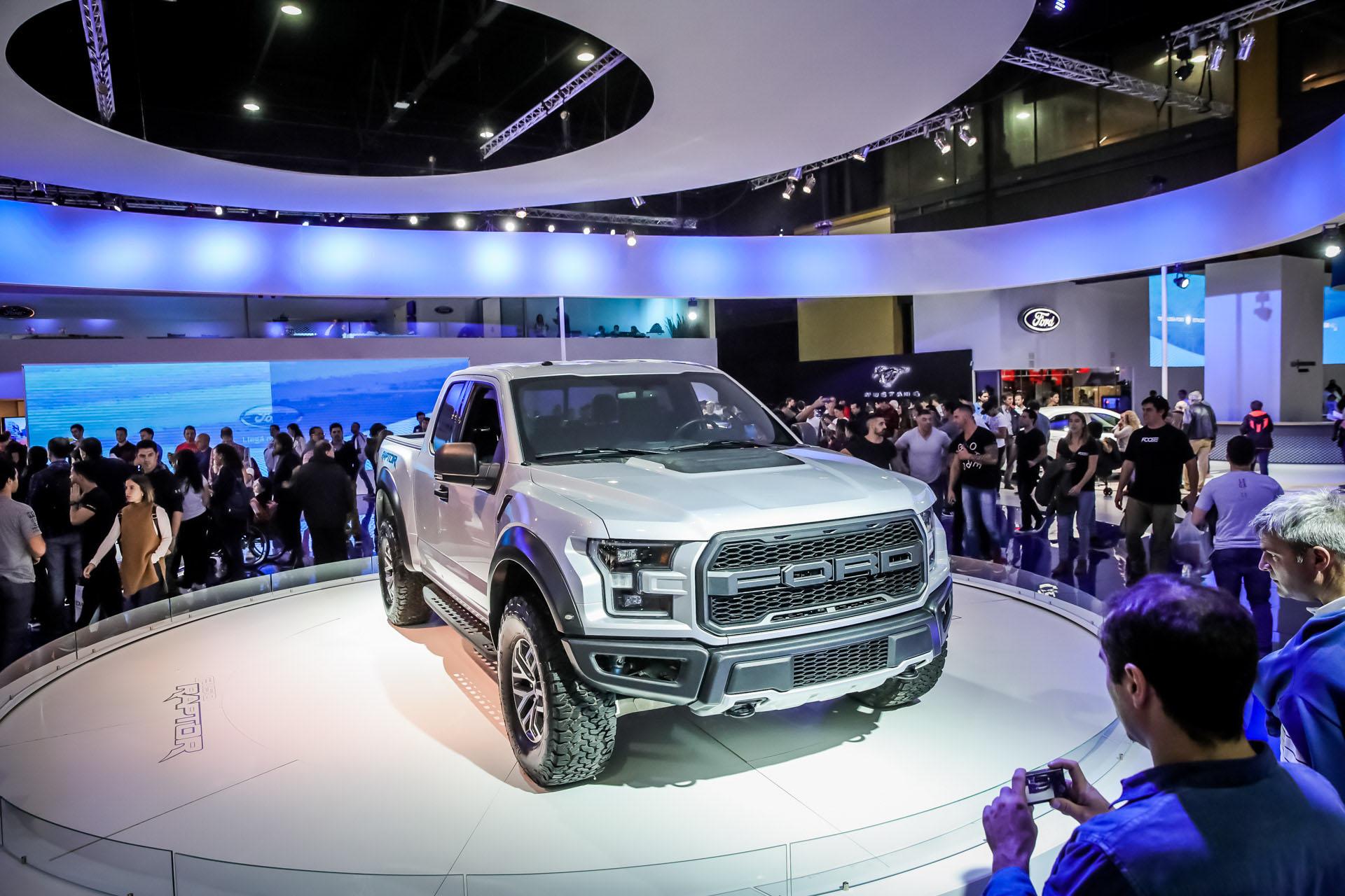 La F150 Raptor fue otra de las atracciones de Ford en el Salón del Automóvil