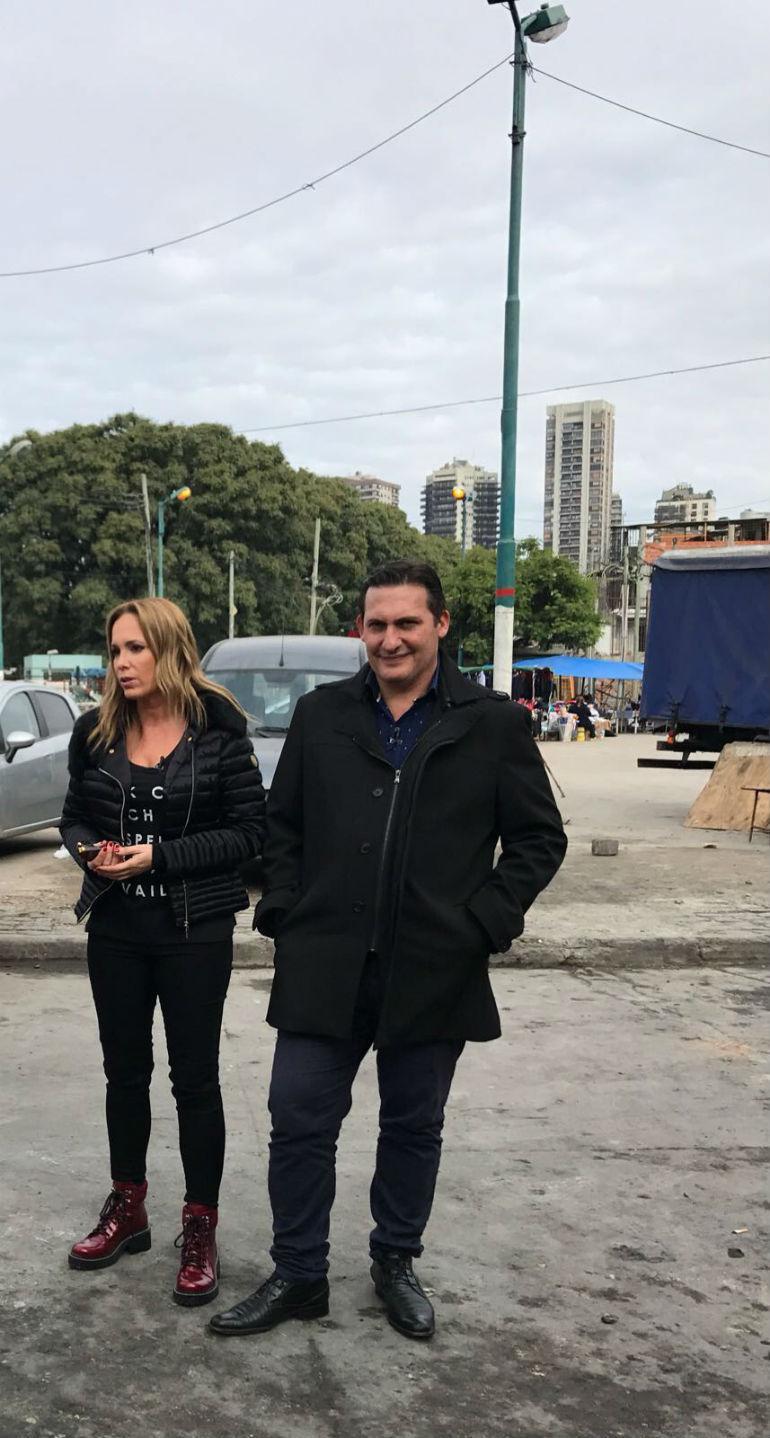 Natalia Denegri y Paulo Kablan