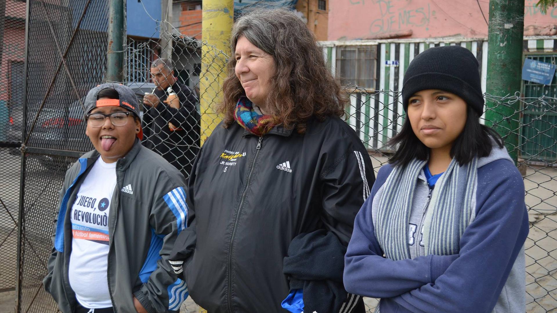 Mónica Santino fue jugadora de All Boys y hoy es entrenadora (La Nuestra Fútbol Femenino)
