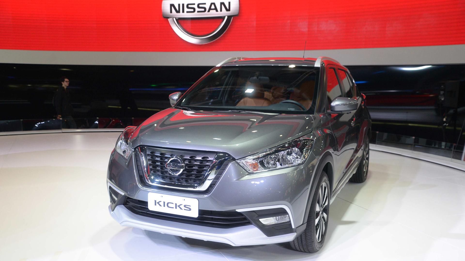 El Nissan Kicks se ofrecerá desde 448.000 pesos en su versión más económica hasta su tope de gama, de 490.000 pesos (Enrique Abatte)