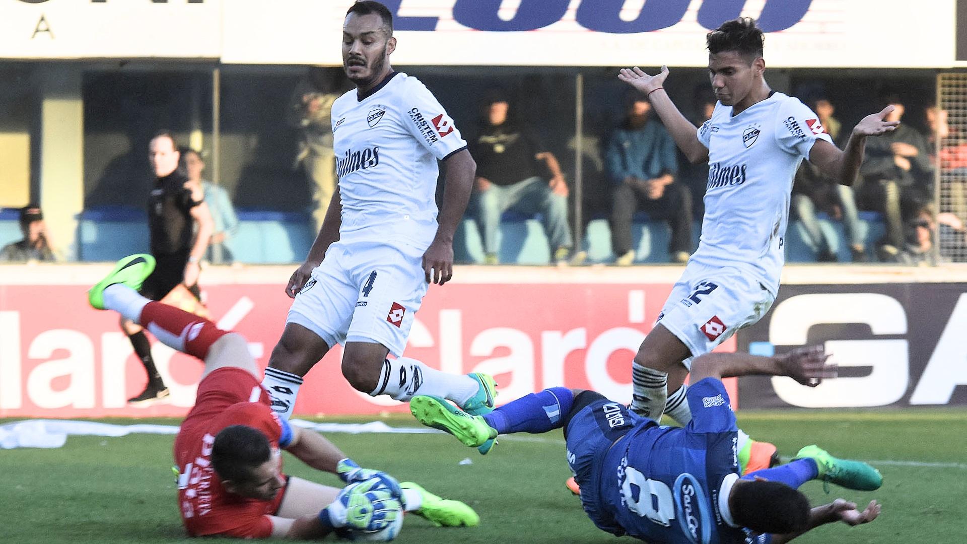 Rafaela empató con Quilmes en su estadio (Télam)