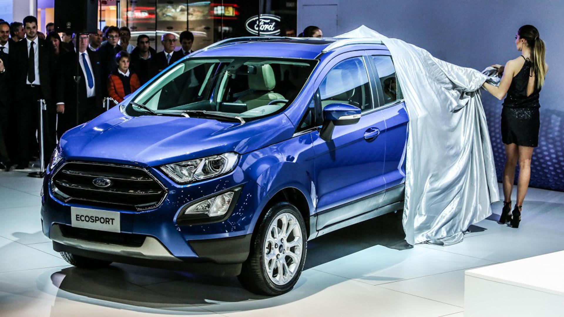 La EcoSport se actualiza para seguir liderando el segmento de los SUV compactos