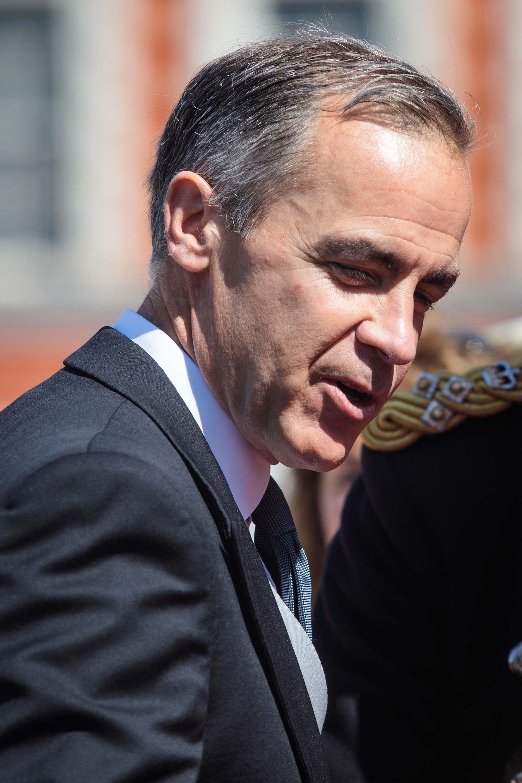 El director del Banco de Inglaterra, Mark Carney /// Fotos: Getty Images