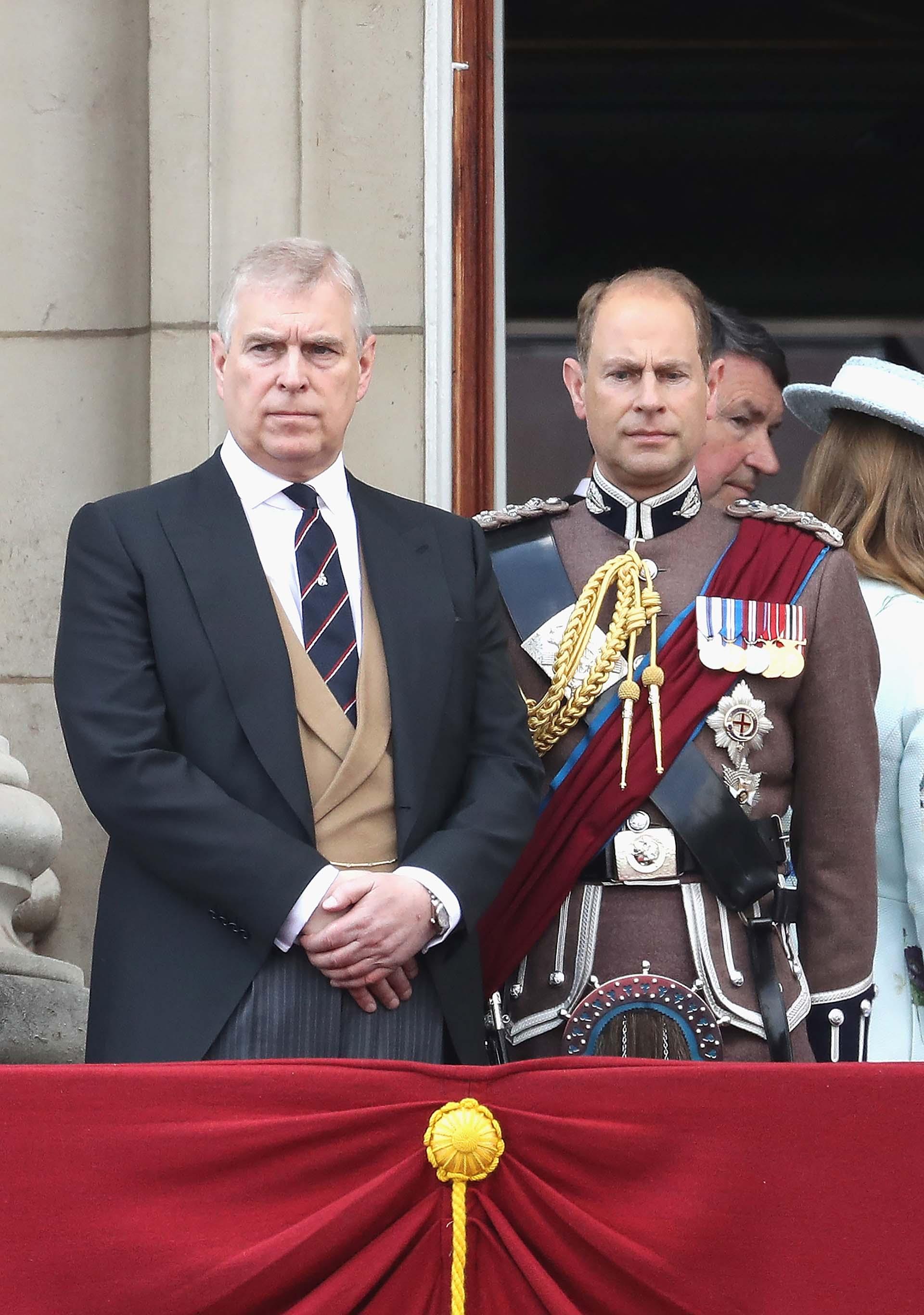 El príncipe Andrés, conde de Wessex