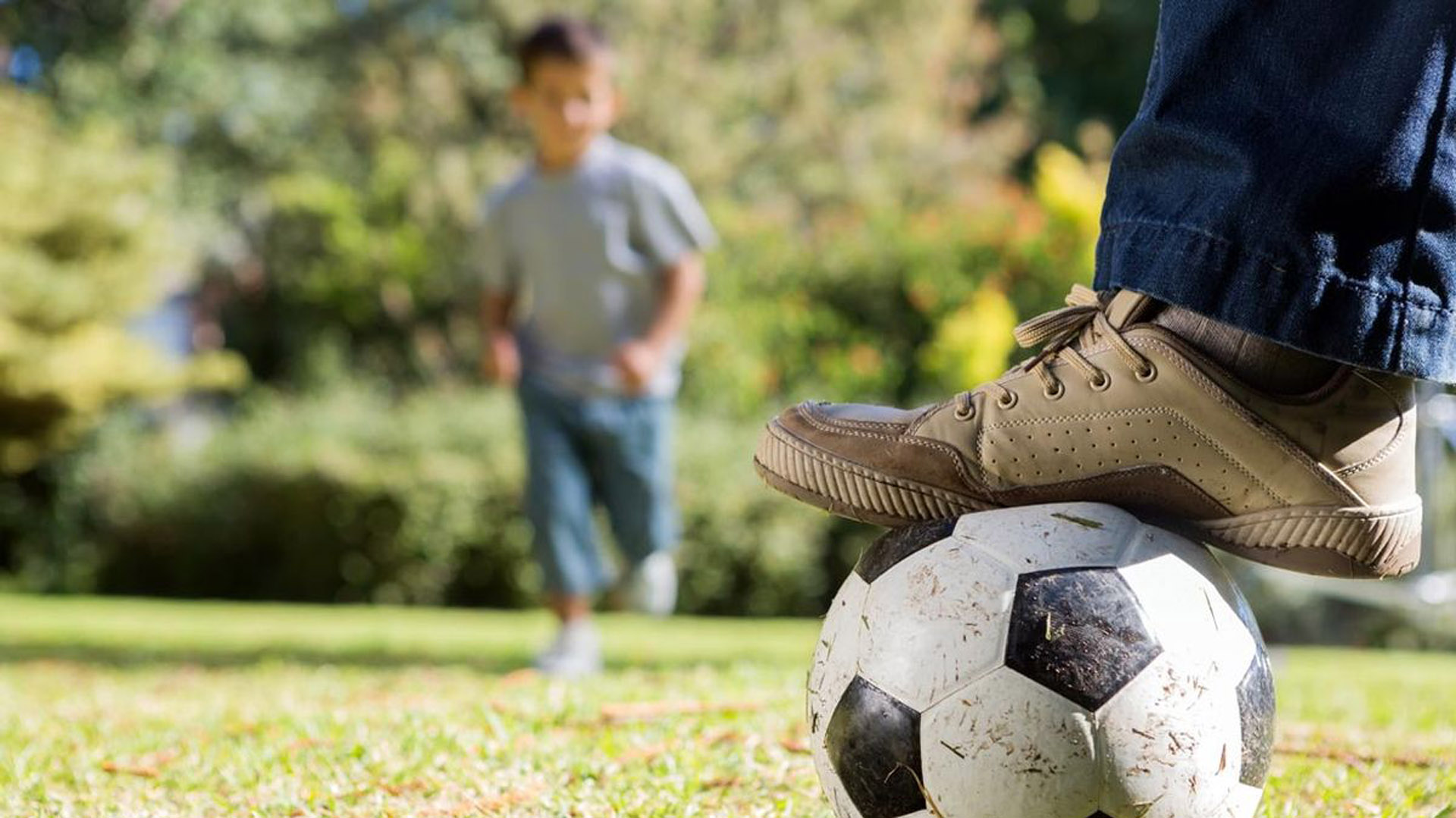 padre hijo deportista