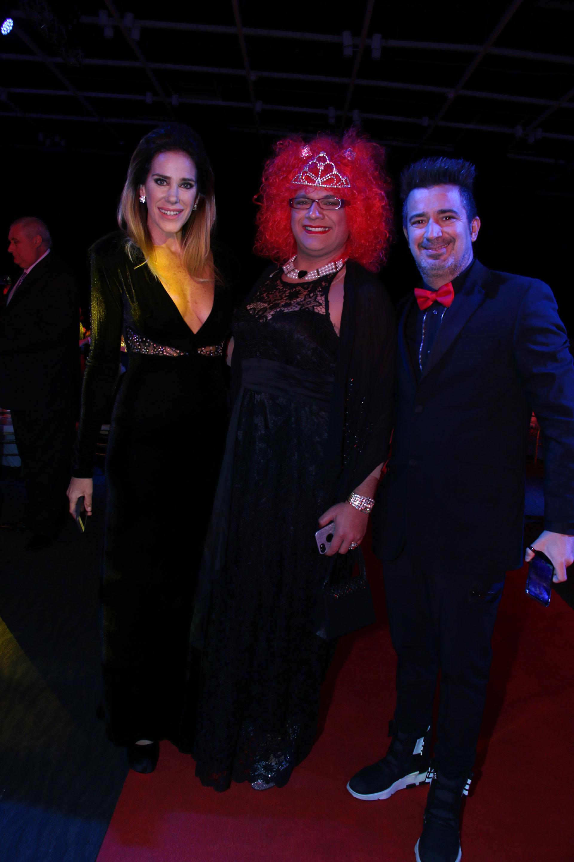 Marcela Baños, Rosita y Pablo Serantoni
