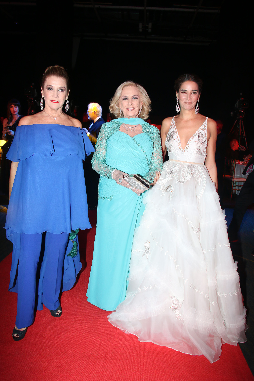 Marcela Tinayre, Mirtha Legrand y Juana Viale