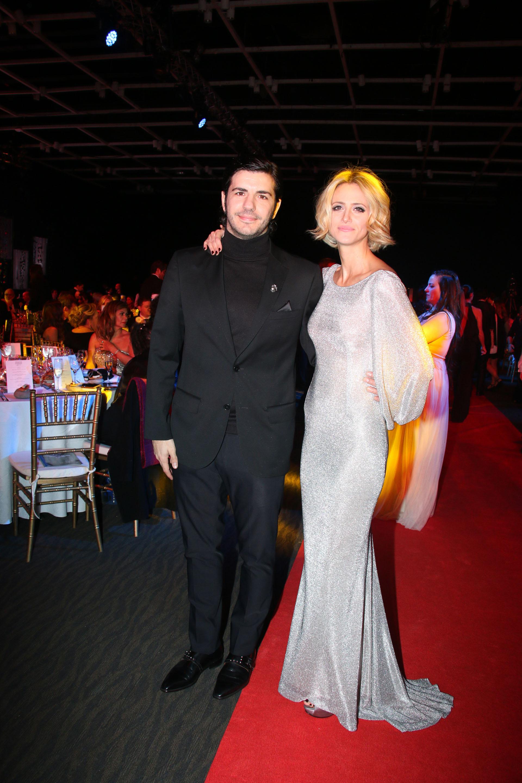 Marco Antonio Caponi y Mónica Antonópulos