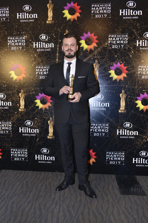 Ignacio Otero ganó el Martín Fierro a Mejor Cronista/Movilero