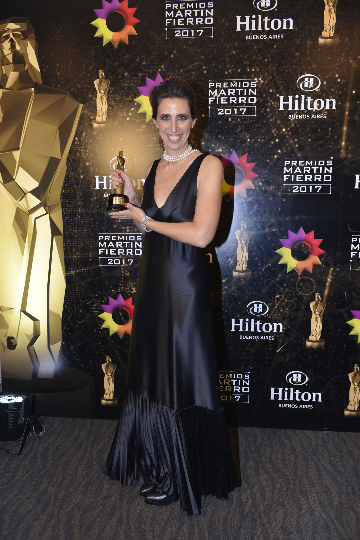 Luciana Geuna ganó el Martín Fierro en labor periodística femenina