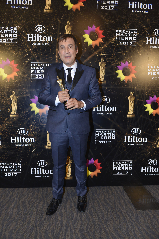 Paulo Vilouta ganó el Martín Fierro como Mejor panelista