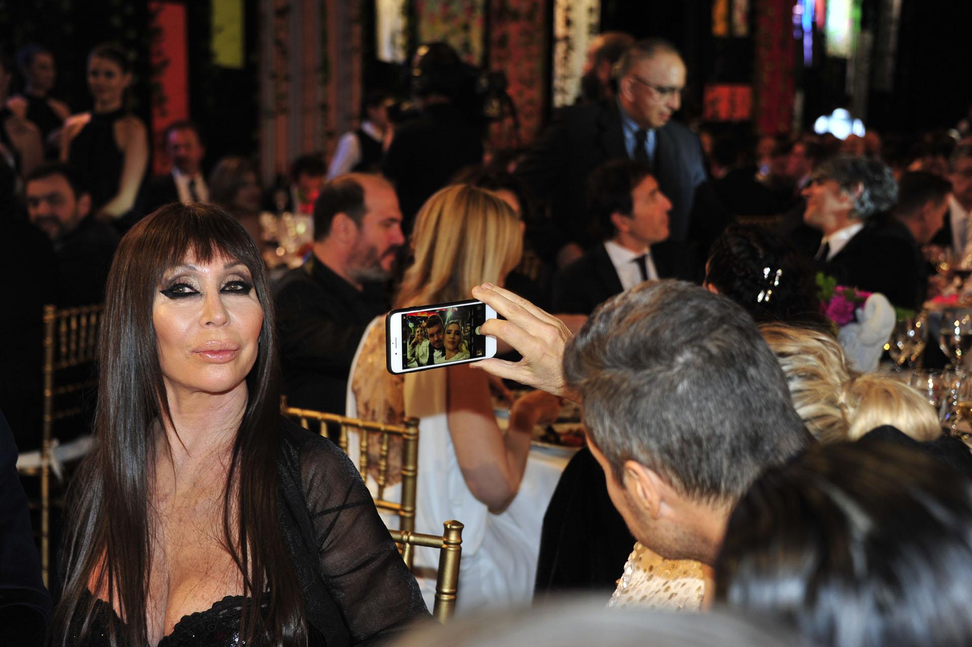 Marcelo Tinelli y guillermina Valdés se sacan una selfie… ¿o la intención era fotografiar a Moria?