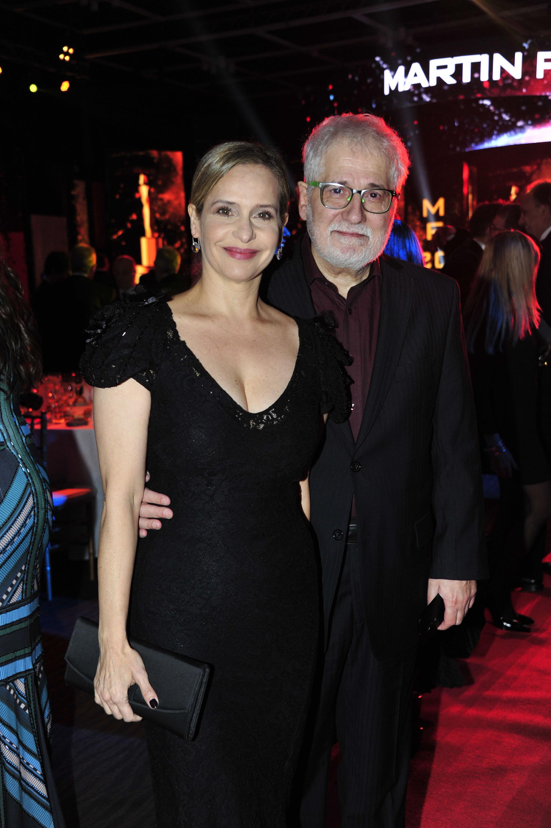 Gabriela Toscano y Carlos Rivas