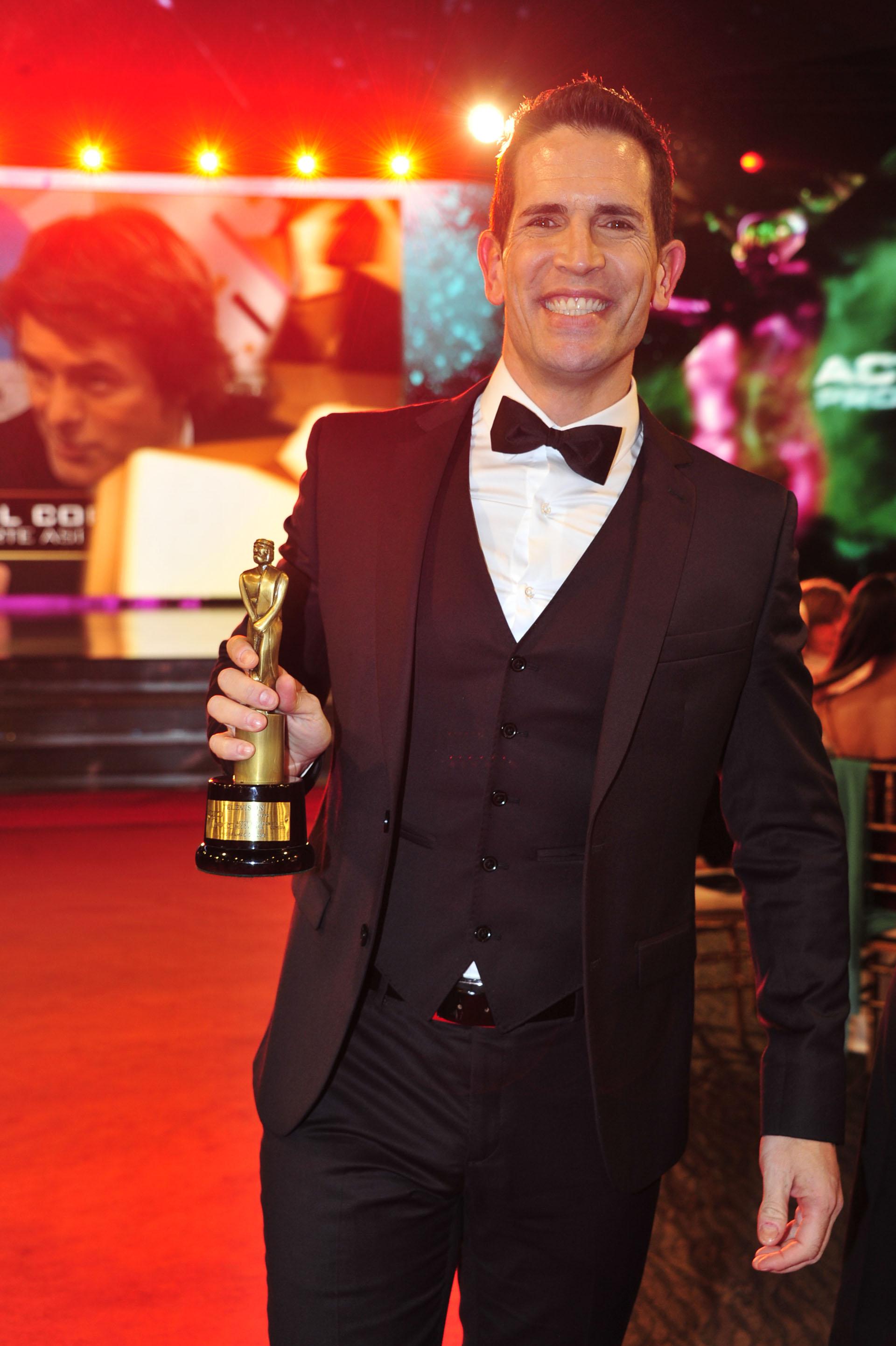 Diego Ramos ganó como Mejor Actor protagonista de ficción diaria / comedia