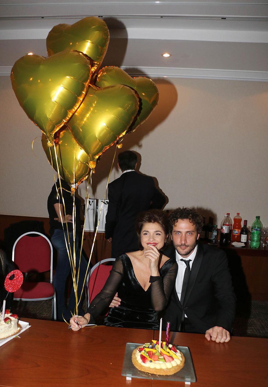 Araceli González y Luciano Cáceres (Verónica Guerman / Teleshow)