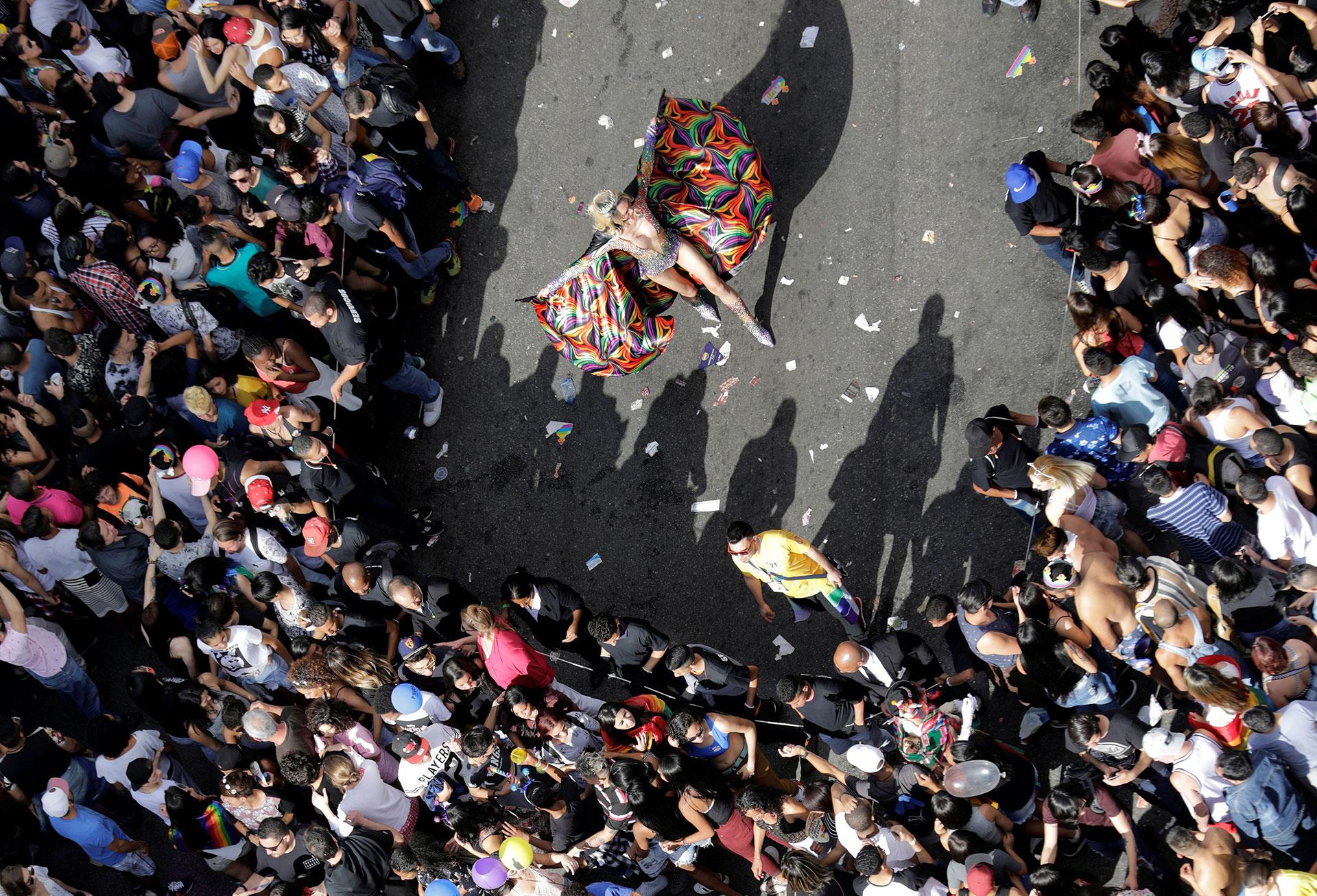 La masiva movilización en defensa de los derechos de los homosexuales en la mayor ciudad de Brasil, sin embargo, no oculta que este es uno de los países que más registran homicidios y agresiones en el mundo por discriminación contra los homosexuales