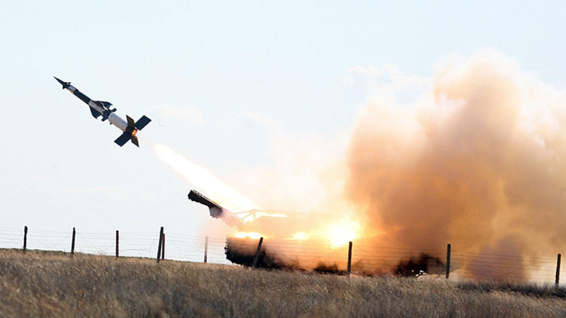 Un misil Pantsir S1 (TASS)