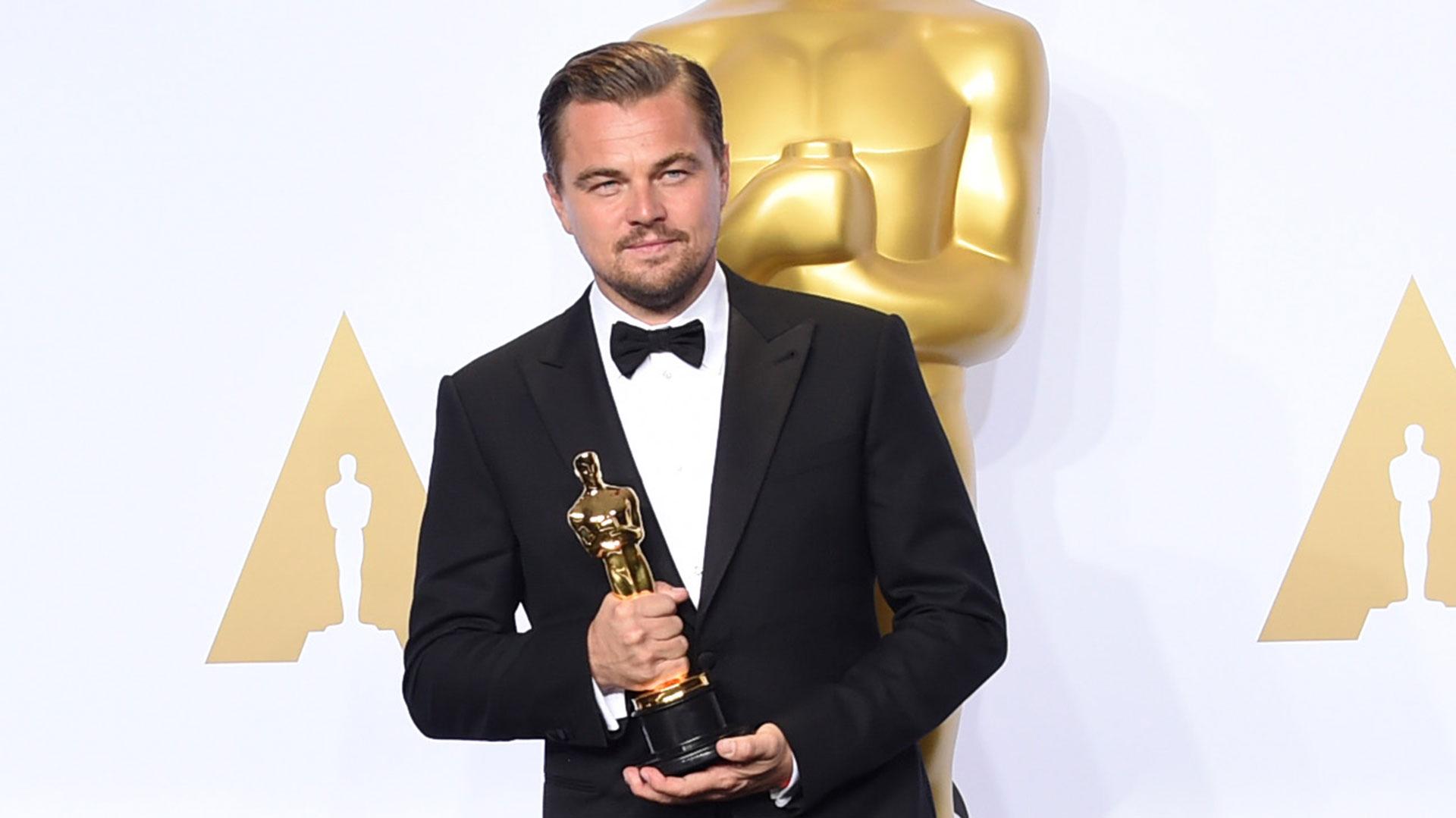 """DiCaprio, ganador del Óscar al mejor actor por """"The Revenant"""" (2015), ya trabajó con Tarantino en el largometraje """"Django Unchained"""" (2012) (Getty)"""