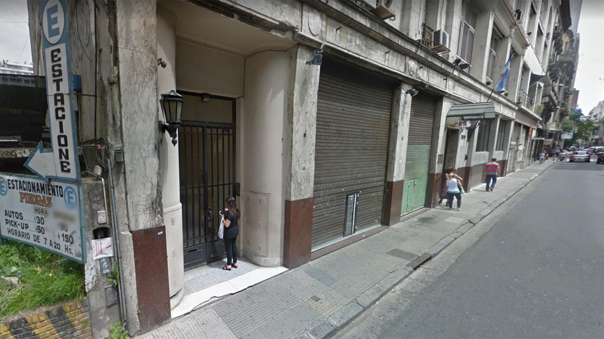 """El boliche """"Big Flow"""" ubicado en la calle Piedras al 100, en Monserrat"""