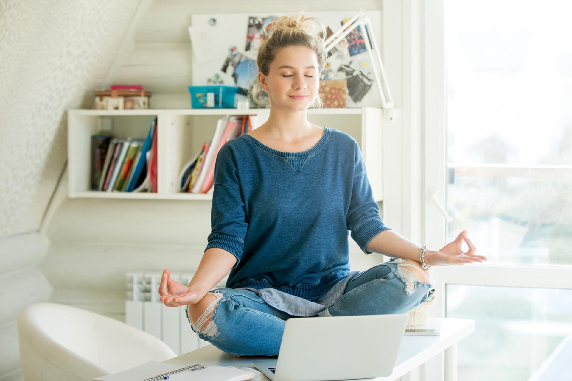 Como terapia antiestrés en el trabajo regula las emociones y aumenta la serenidad y el bienestar (Istock)