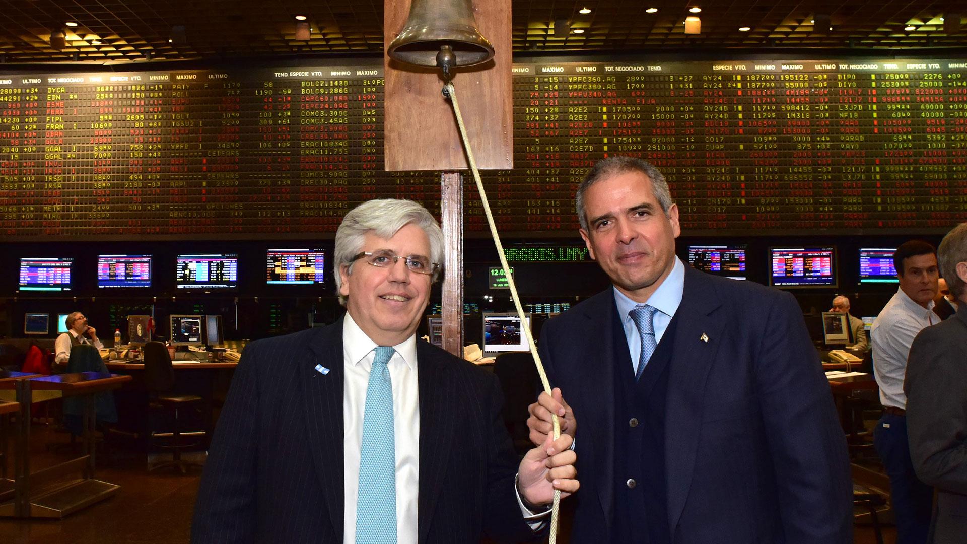 Ernesto Allaria y Luis Perez Companc