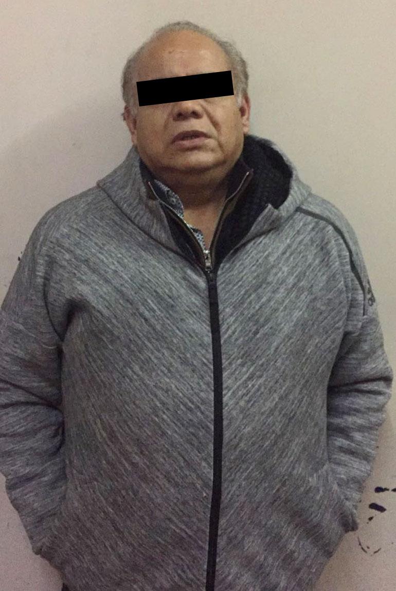 Rodrigo Alexander Naged Ramírez, de 58 años, con domicilio en Puerto Madero: el presunto jefe.