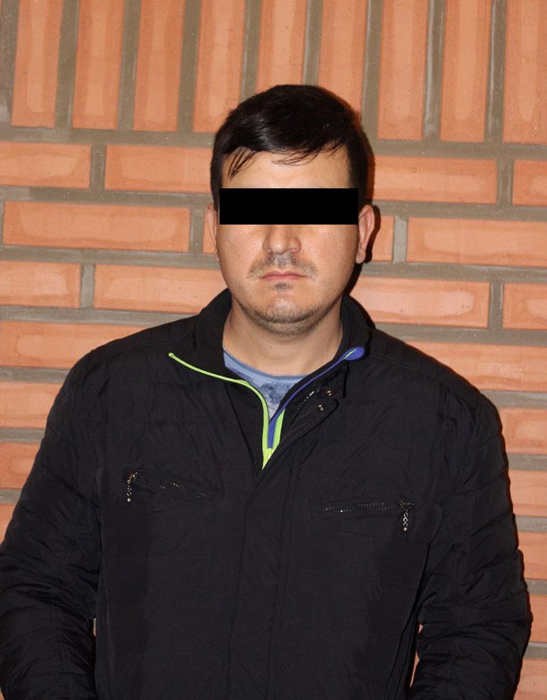 Gilberto Acevedo Villanueva, domiciliado y arrestado en Bahía Blanca.