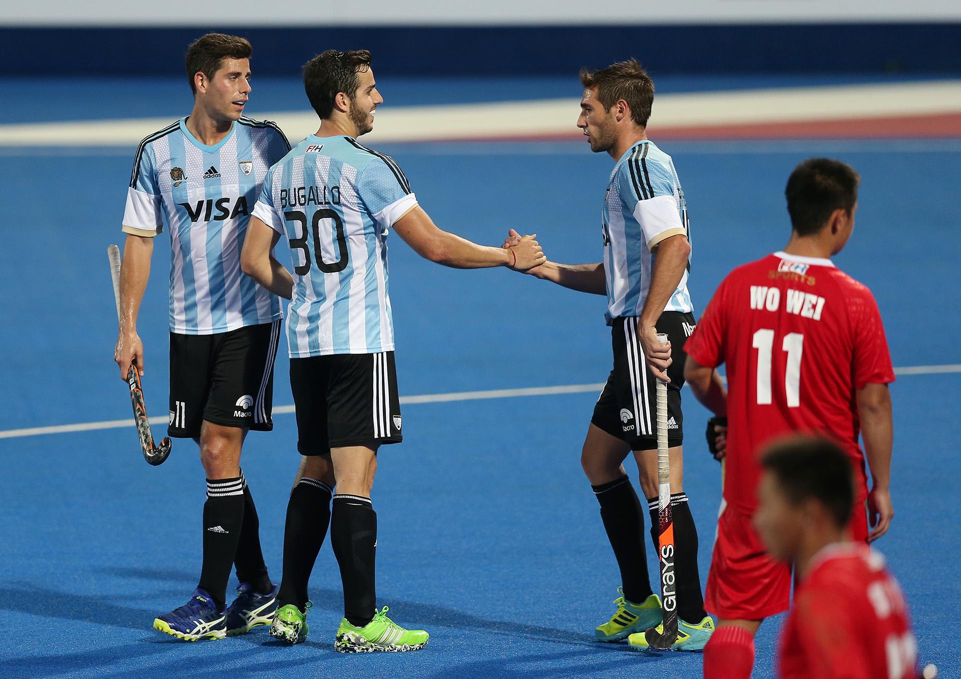 Los Leones golearon por 10 a 0 a China en el cierre de la primera fase de la Liga Mundial de Londres
