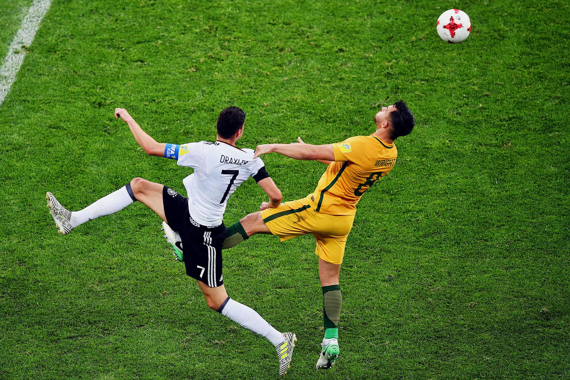 En su presentación en la Copa Confederaciones, Alemania hizo pesar su jerarquía y superó por 3-2, con un equipo alternativo, a Australia, campeón de la Copa Asiática 2015