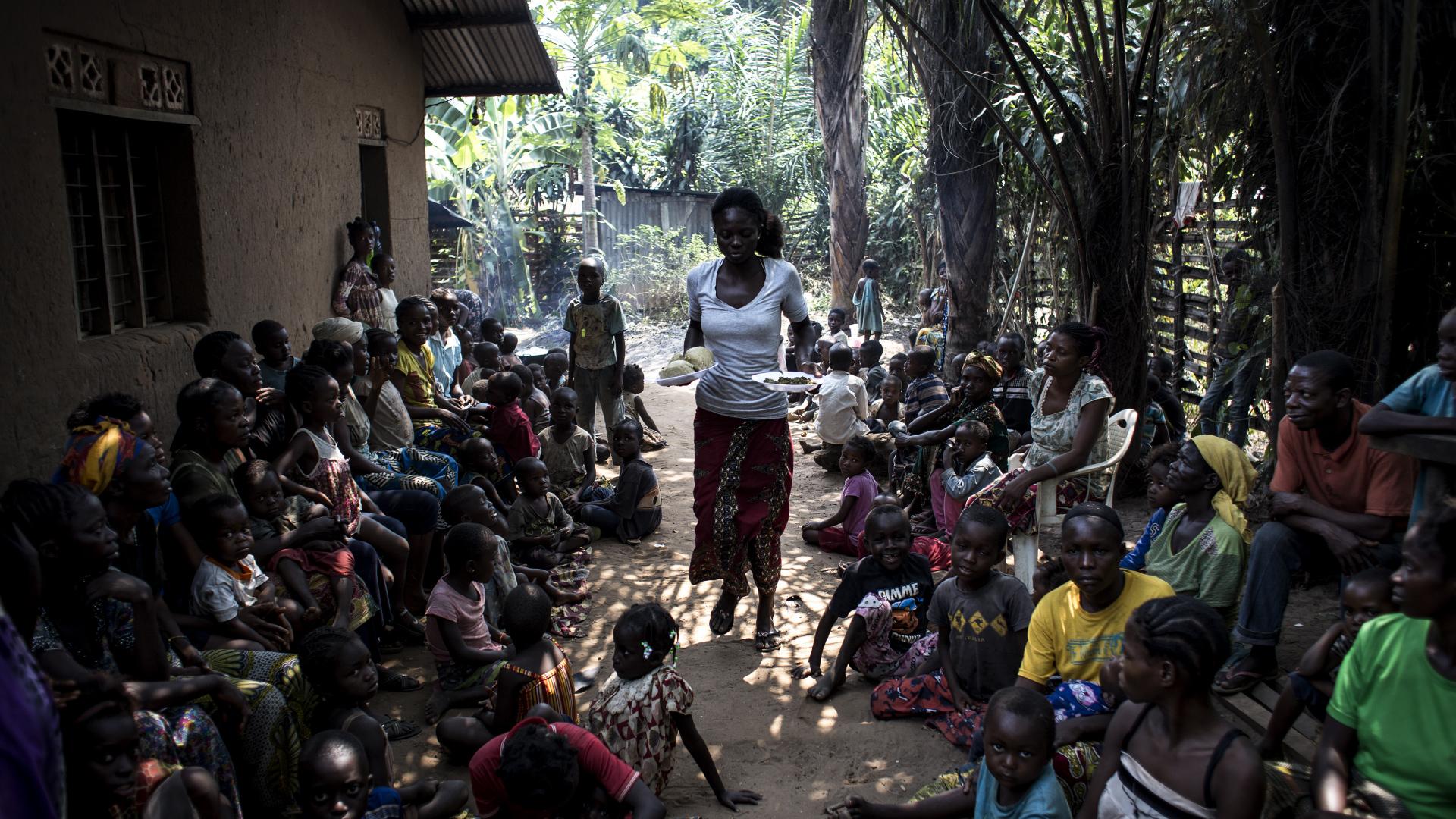 Las fuerzas rebeldes de Kamwina Nsapu fueron acusadas de reclutar niños soldados
