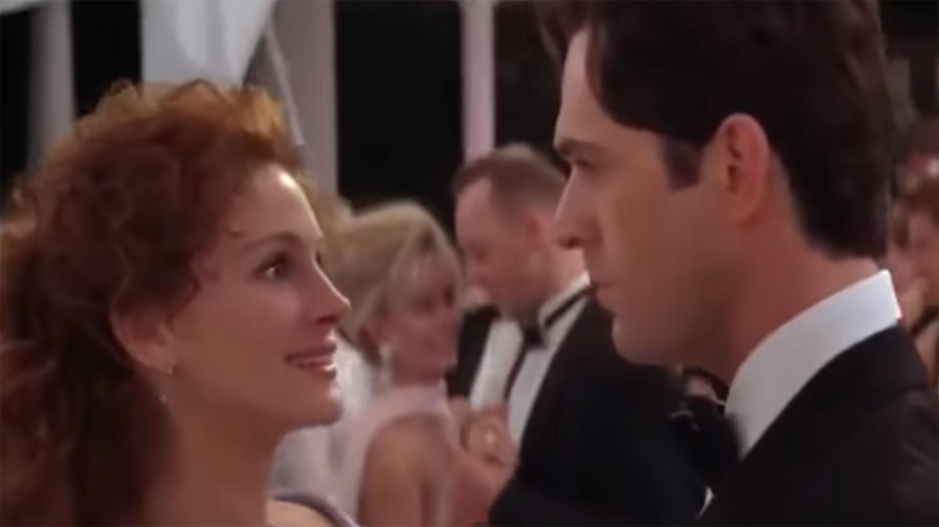 La escena final de la película